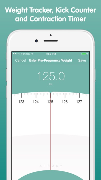 Sprout Pregnancy review screenshots