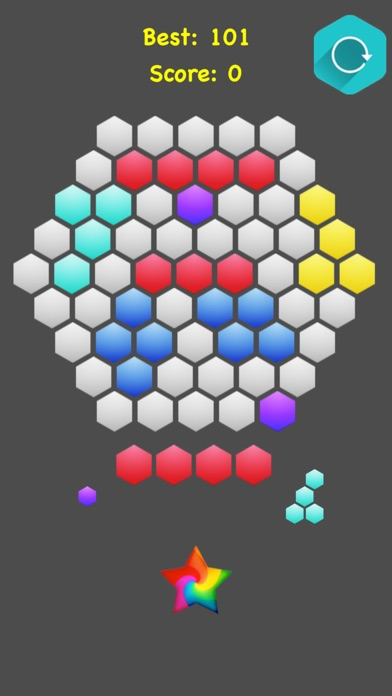 !Hexagonal Merge - Premium screenshot 5