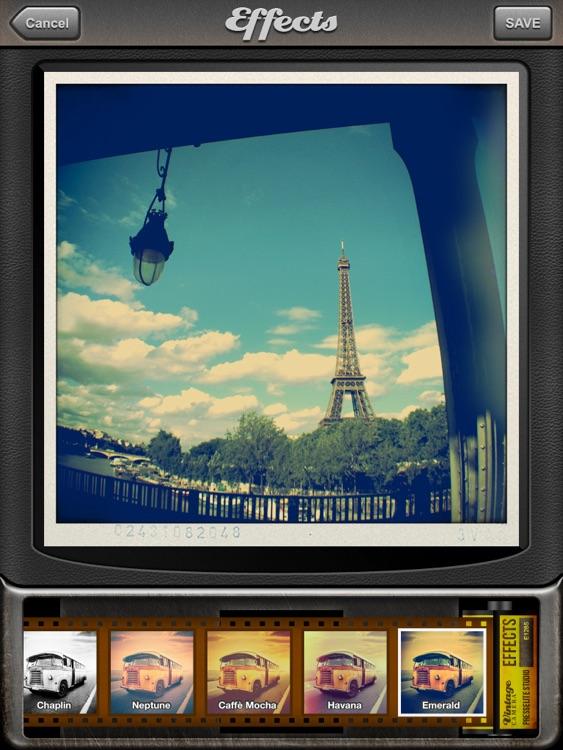 Vintage Camera for iPad screenshot-4