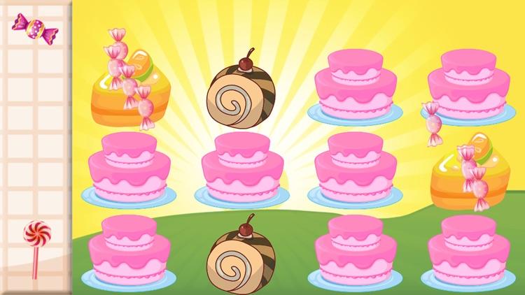 Candy & Cake Match Kids Games screenshot-4