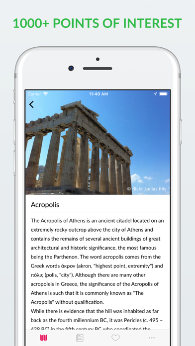 Athens Offline Map & Guide screenshot three