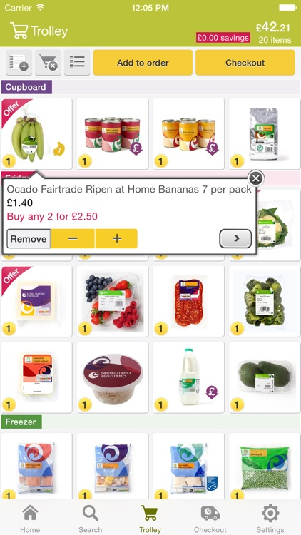 Ocado: groceries made easy screenshot-4
