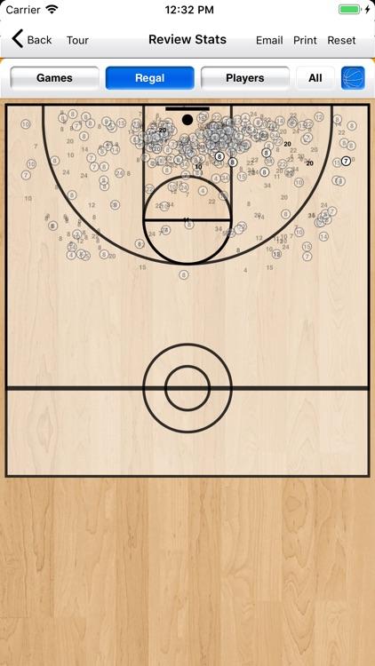 Basketball Stat Tracker Live screenshot-9