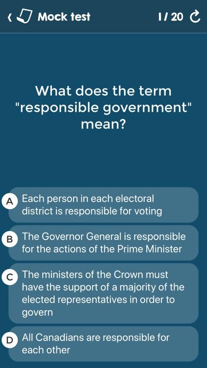 Canadian Citizenship Tests screenshot-6