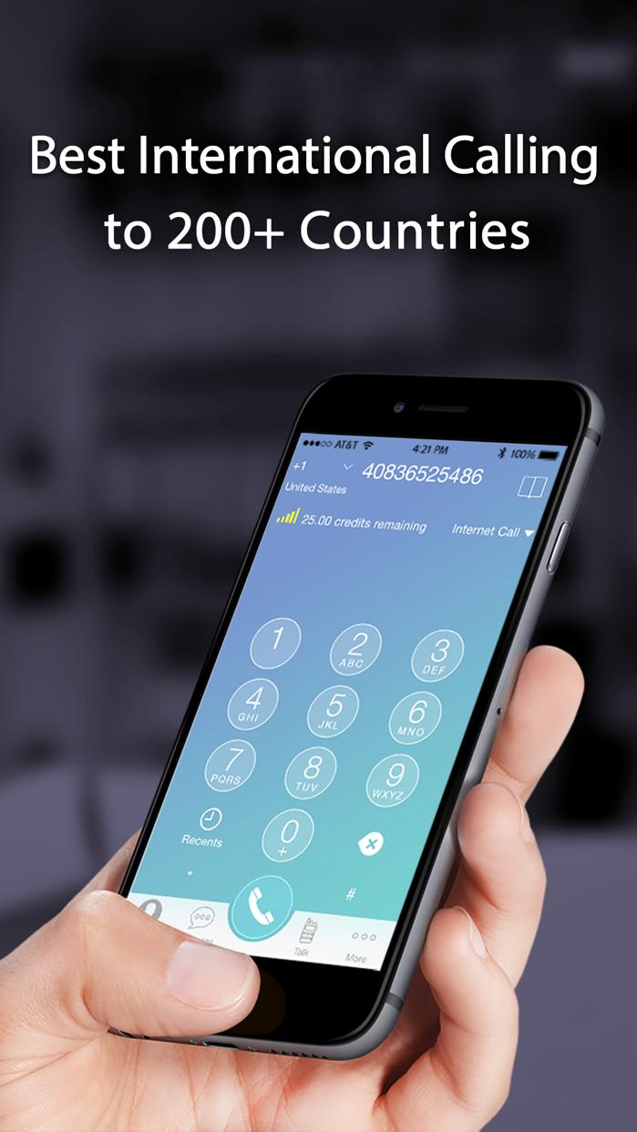 TalkU Unlimited Calls + Texts Screenshot