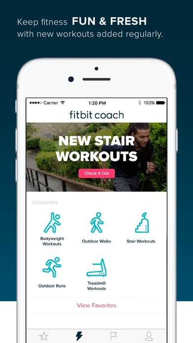 fitbit app for iphone 4 fitbit coach app voor iphone en ipod touch appwereld 1384