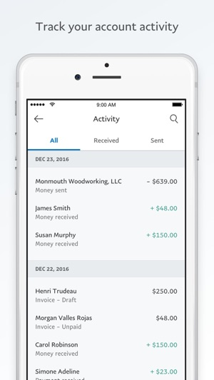 PayPal Business Send Invoices On The App Store - How to send invoice through paypal app