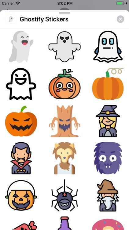 Ghostify Halloween Stickers