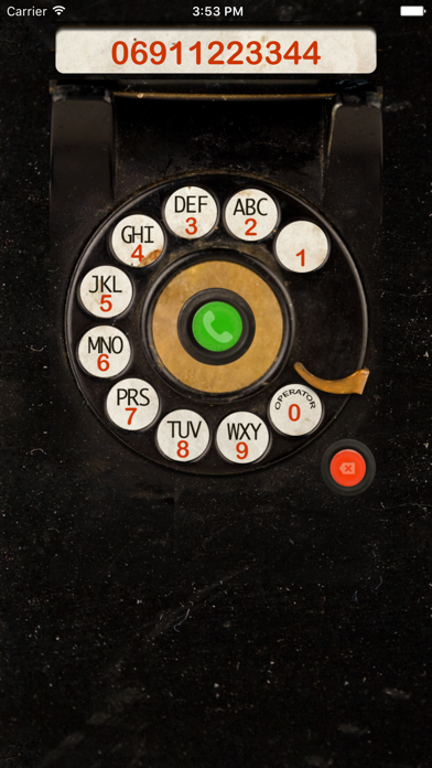 Dial Plate - Rotary Dialer for the iPhone Screenshots