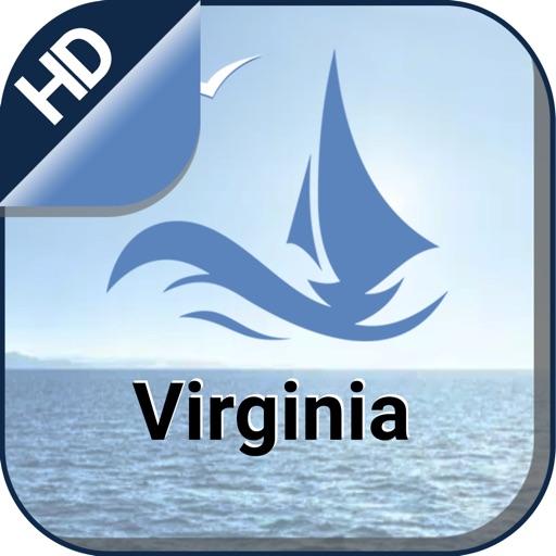 Virginia boating Nautical offline cruising charts