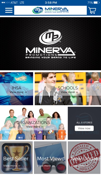 Minerva Easy Click Application