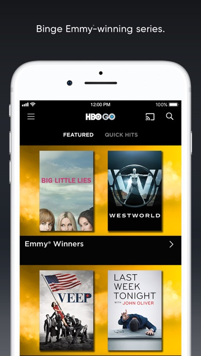 HBO GO: Stream with TV Package for Windows