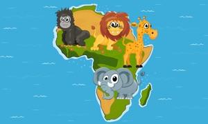 Op safari naar Afrika met Dirkje - Juf Jannie leest voor