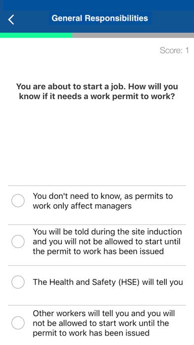 CSCS Card Test Revision 2018 screenshot four