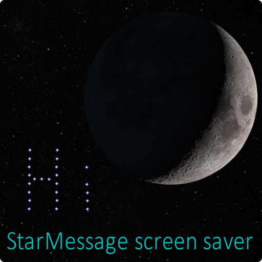 StarMessage screensaver