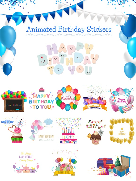 Happy Birthday - Animated screenshot 6