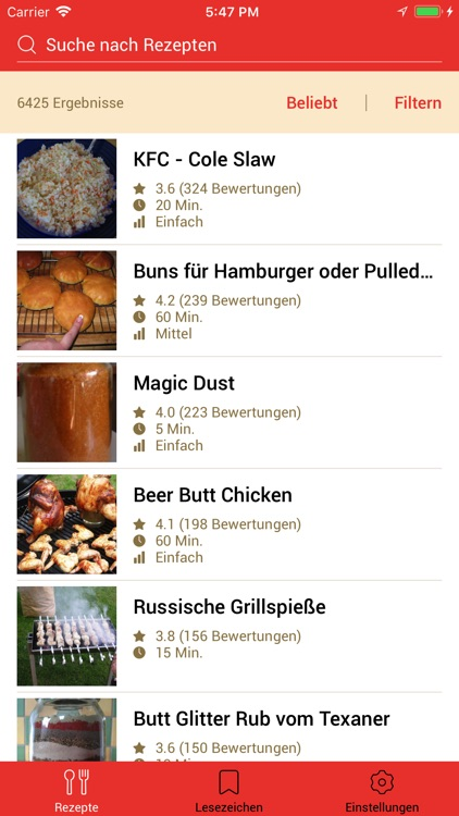 Grillrezepte 2 screenshot-3