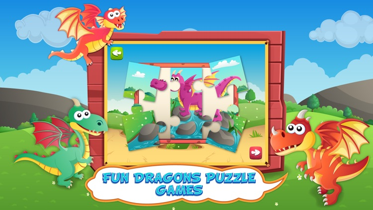 Dragons Activity Games Lite screenshot-4