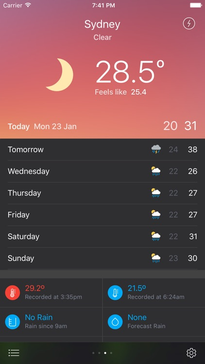 Pocket Weather Australia screenshot-4