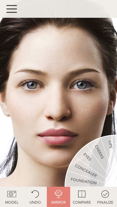 jane iredale Makeup Mirror iOS Application Version 3 2