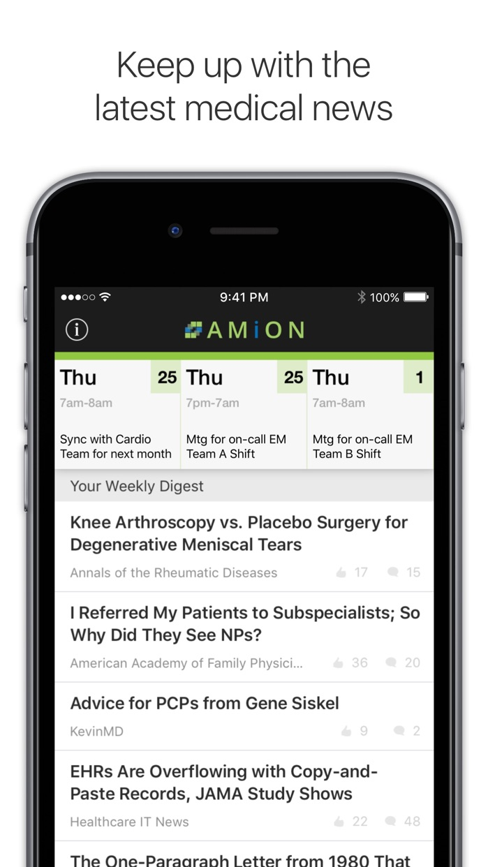 Amion - Physician Scheduling Screenshot