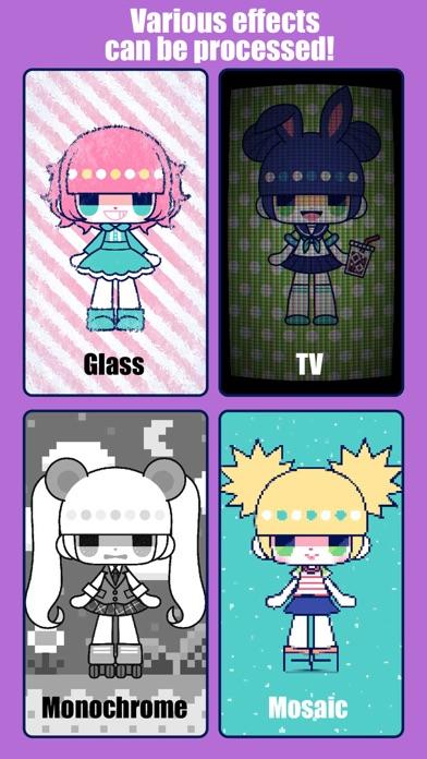 CustomTiyoko -Dress Up Game- Screenshot