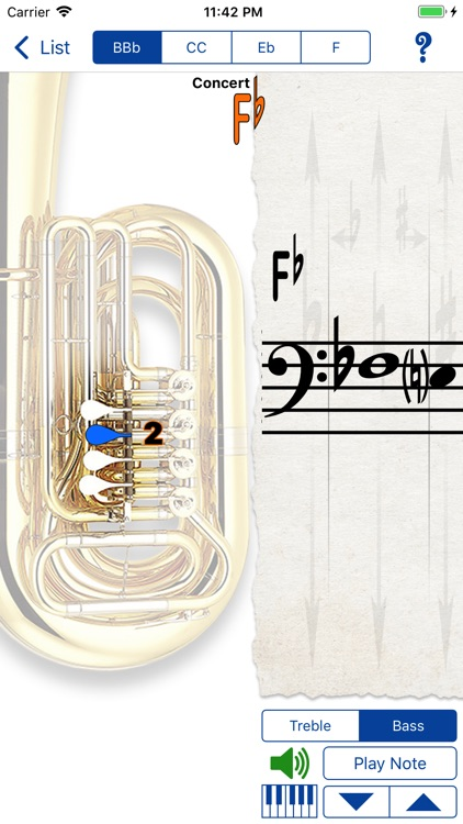 Fingering Brass for iPhone