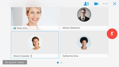 Screenshot for Cisco Webex Meetings in Austria App Store