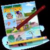 Comic Strip Factory - DWDurkee, LLC Cover Art