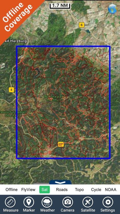 Harz National Park - GPS Map Navigator screenshot-4