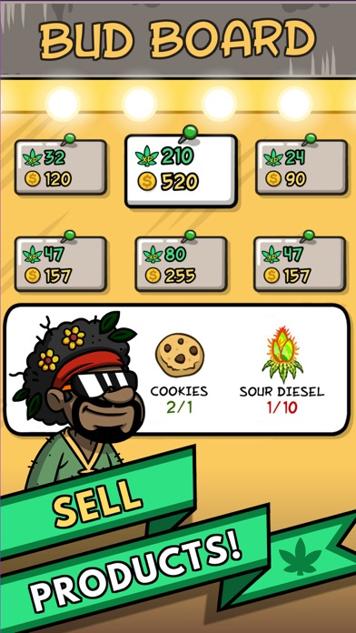 Bud Farm: 420 Screenshot on iOS