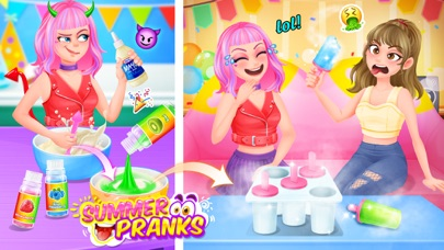 Summer Pranks - BFF Prank War screenshot one
