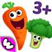 趣味食物2 - 婴幼儿少儿早教育和儿童游戏宝宝益智拼图