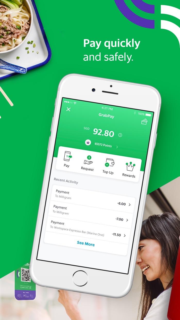 Grab App Screenshot