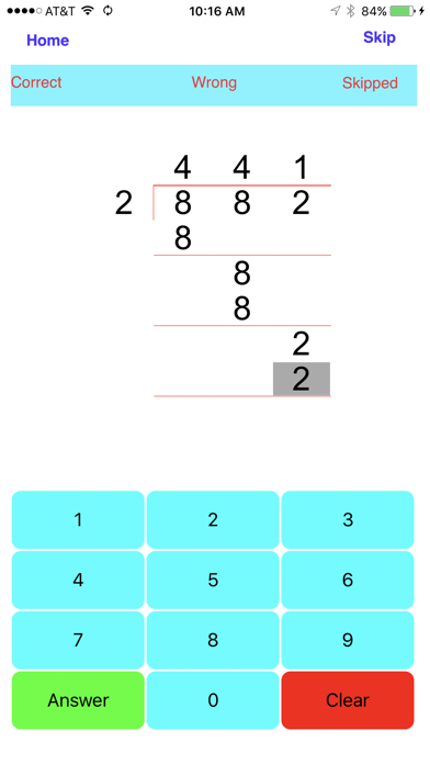 Division - 1, 2, 3, 4 digit Divisionsのおすすめ画像4