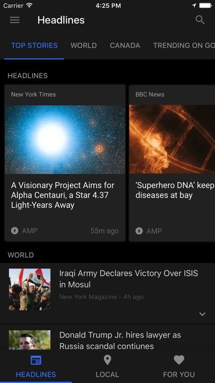 Google News & Weather screenshot-3