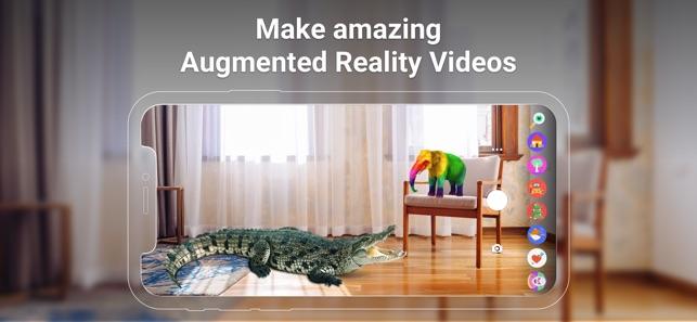 Leo Augmented Reality Camera Screenshot