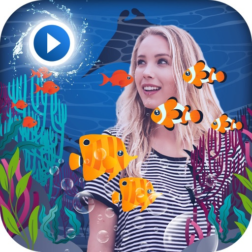 Live Aquarium Photo Effect
