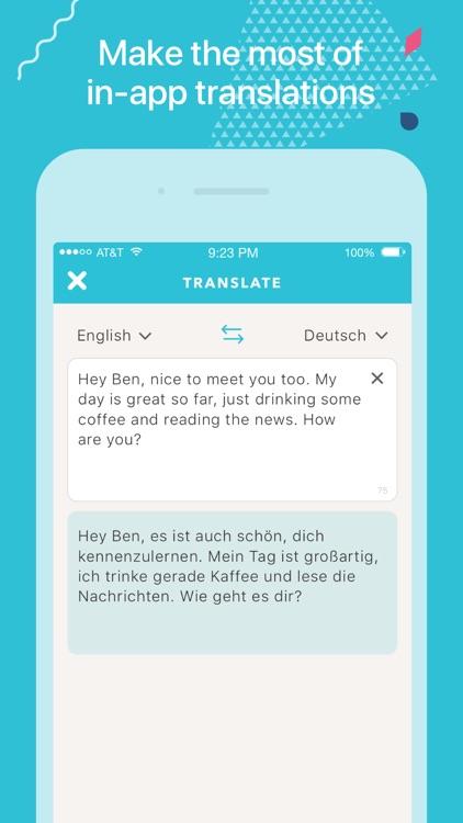 Tandem - Language Exchange screenshot-3