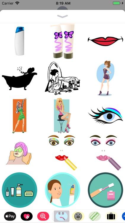 Lotsa Cosmetic Stickers
