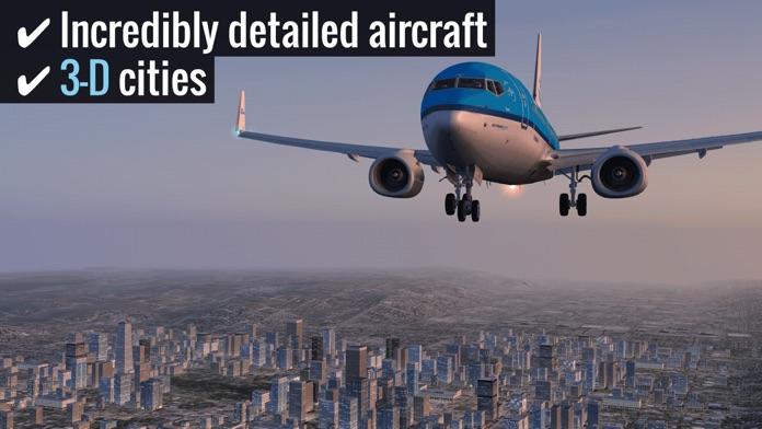 X-Plane 10 Flight Simulator Screenshot