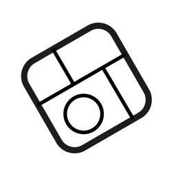 Square Photo - White Frame