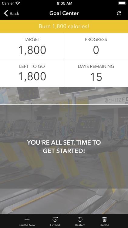 Chuze Fitness. screenshot-3