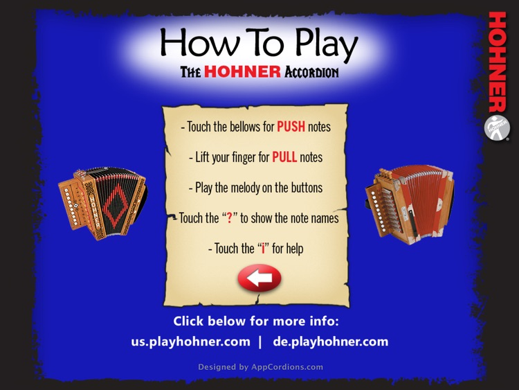 Hohner Cajun SqueezeBox screenshot-3