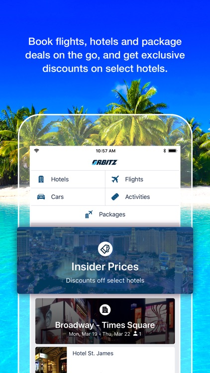 Orbitz Flight, Hotel, Packages