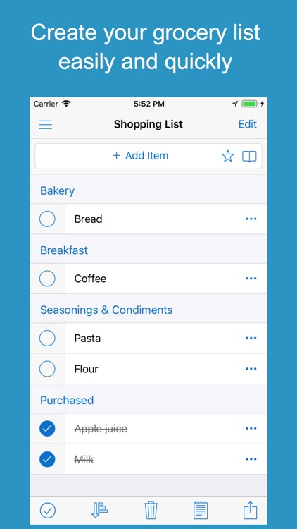Shoppylist Pro (Grocery List) screenshot-0