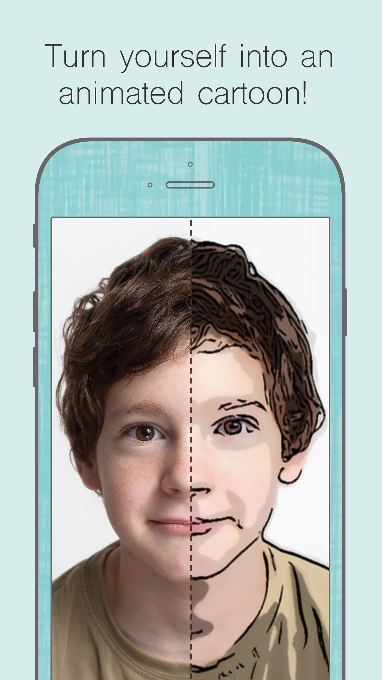 Cartoon Face animation creator Screenshot