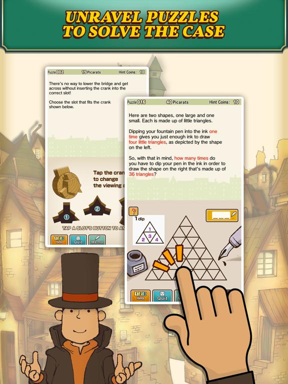 Layton: Curious Village in HD Screenshots