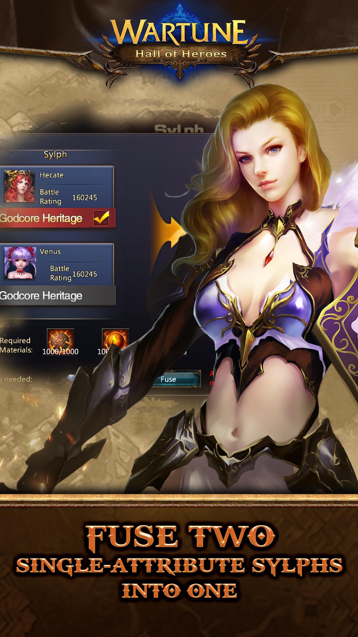 WARTUNE: HALL OF HEROES Screenshot