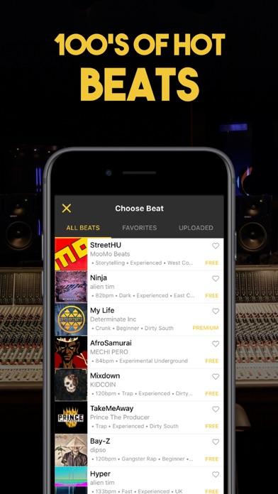 RapFame - Rap Recording Studio by BattleMe Inc  (iOS, United States